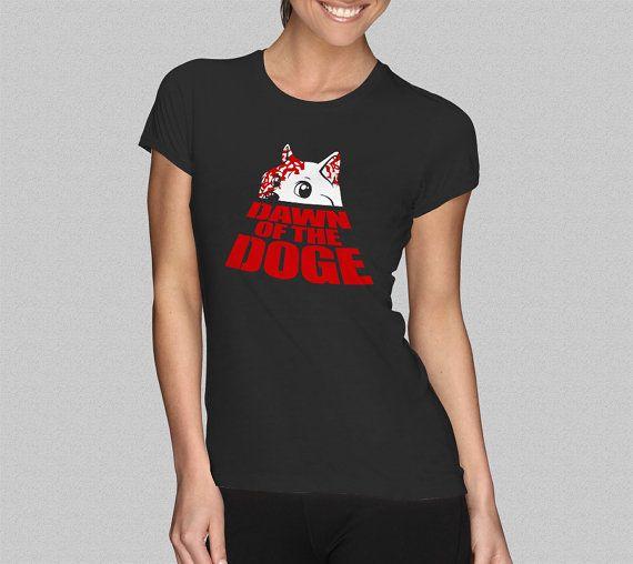 Dawn of the Doge TShirt  Doge TShirt  Women's TShirt  S by Yipptee, $21.99