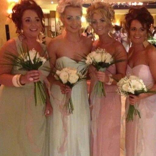 pastel bridesmaids #mint #lime #rose #blush - #pastels