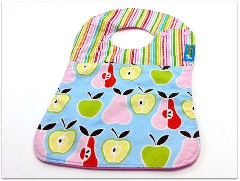 Apples & PearsBoutique Bib – Ella Bella #clothdiaper #ellabellabum