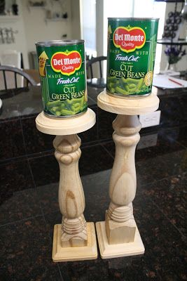 While I was gathering supplies for my crib bench I picked up a couple wooden legs at Home Depot. They didn't have hanger bolts in them and we were unable to find any that would work. I ended…