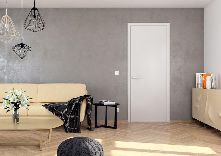 Vnitřní dveře Sapeli - ELEGANT vysoký lesk mat bílá