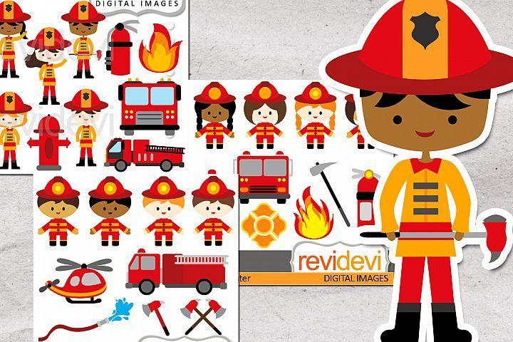 Firefighter graphics bundle