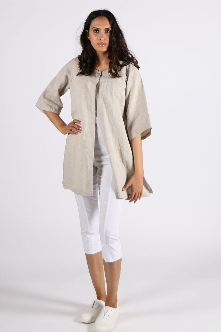 Valia - Pepper Jacket By Valia In Natural