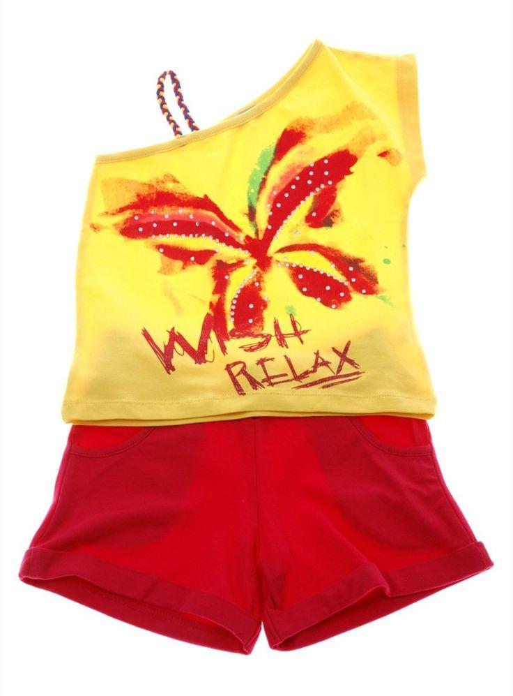 Εβίτα σετ μπλούζα-παντελόνι σορτς «Wish Relax»  €12,50