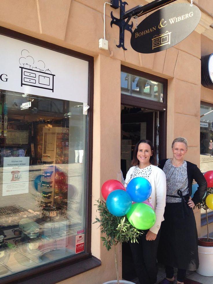 Bild från vårt 1-års firande som butik och webshop
