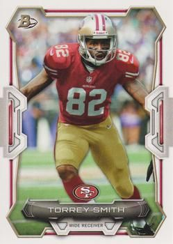 2015 Bowman #11 Torrey Smith Front