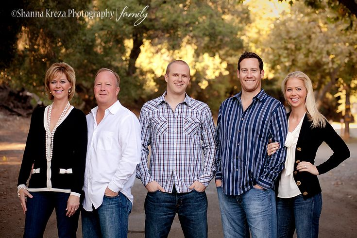 family photography with adult children