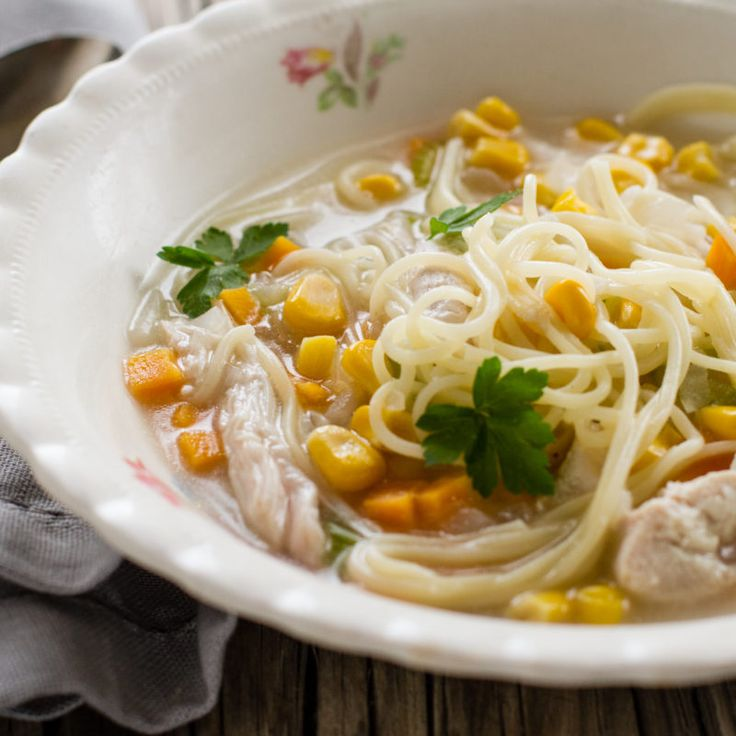 This flu-fighting soup recipe is wonderfully economical and simple enough to prepare.
