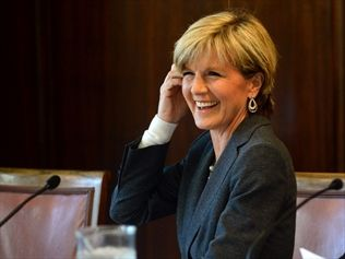 Julie Bishop chides budget doubters