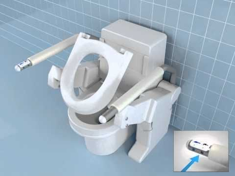 Lift toilet with Bidet #HandicappedToiletGuide u003eu003e Learn more at http://www
