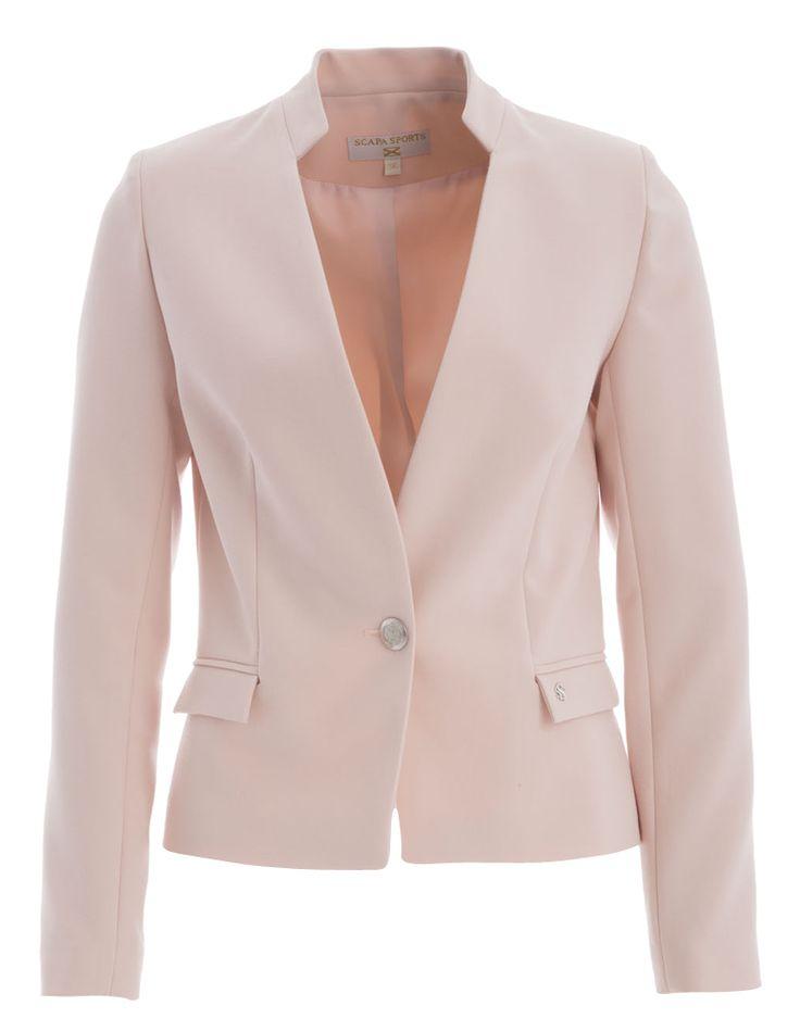 Roze blazer scapa online bij Deleye.be & BeKult
