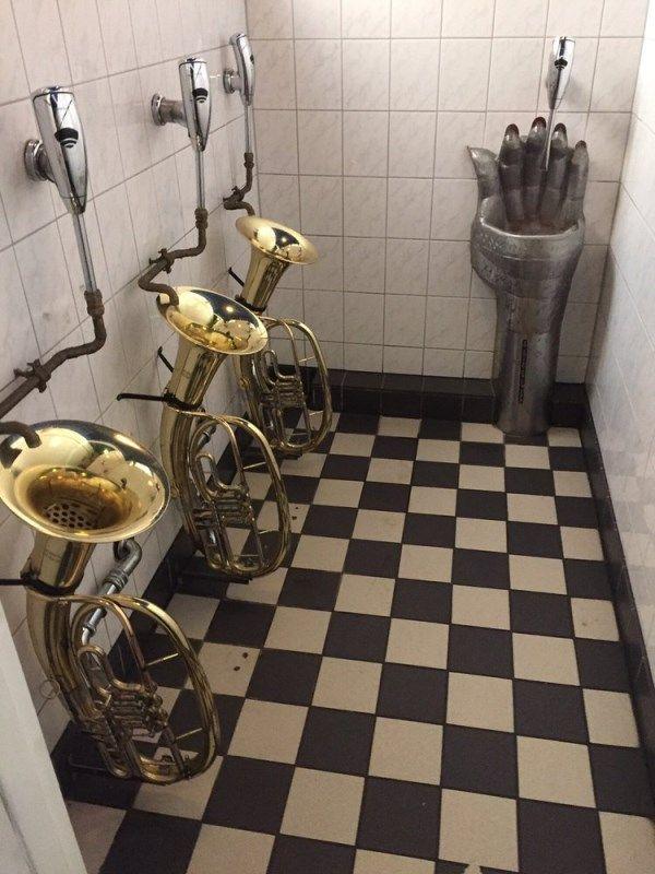15 Weirdest Toilets And Urinals Strange Toilet