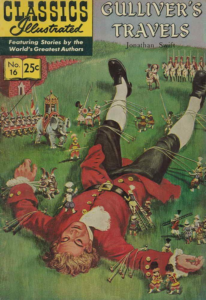 J. Swift Gulliver's Travels first voyage satire question?