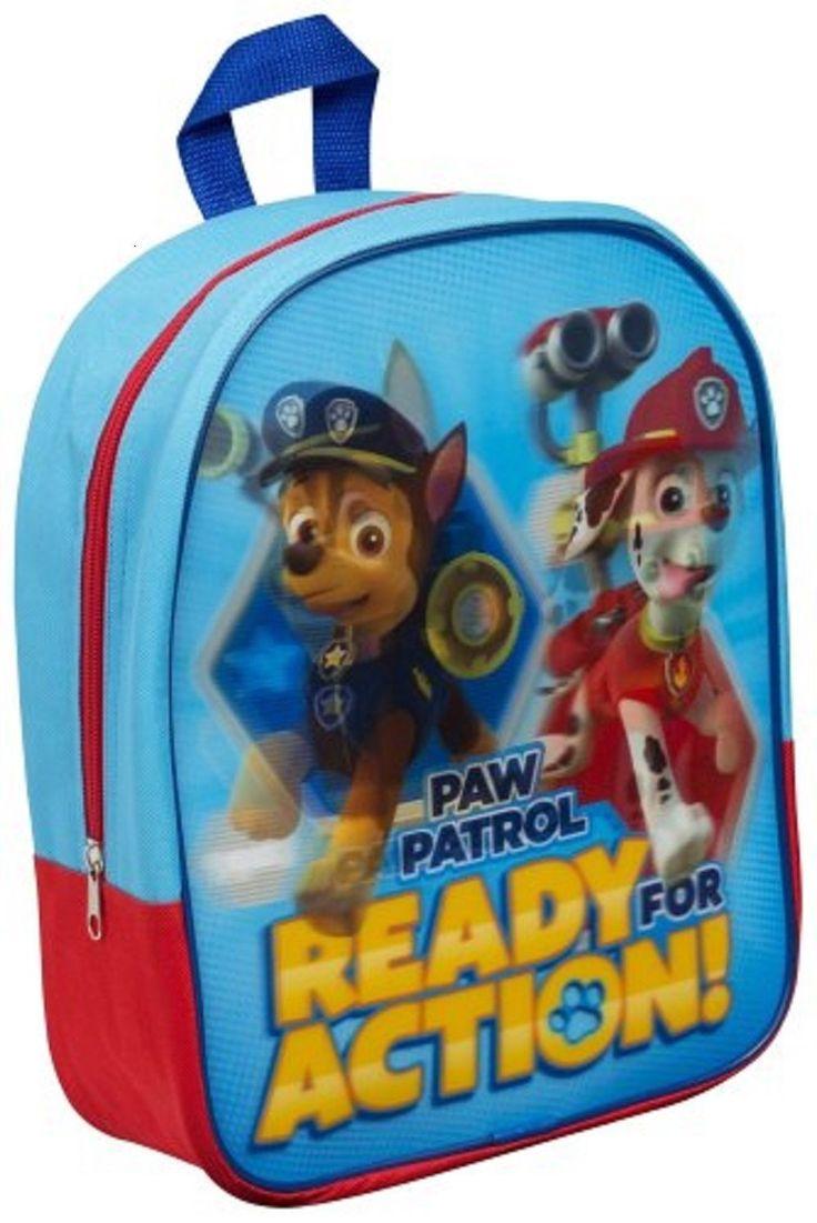 Sac à dos Paw Patrol (Pat Patrouille) effet 3D lenticulaire