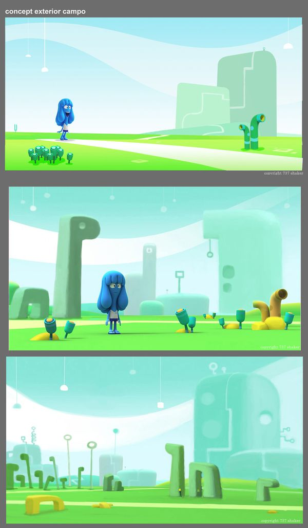 ANIMATION, CONCEPT AND DESIGN: JELLY JAMM by Pedro Bascon, via Behance