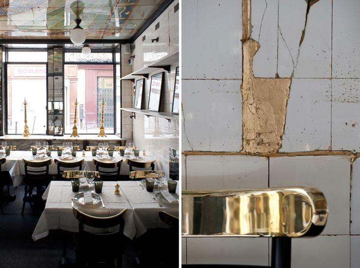 Anahi - paryska restauracja - Architektura - Aranżacja i wystrój wnętrz - Dom z pomysłem