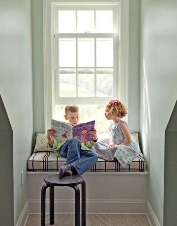 I really want a window nook to read in.