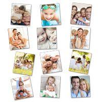 Stickers repositionnables personnalisés