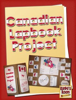 Runde's Room: Canadian Lapbook Project