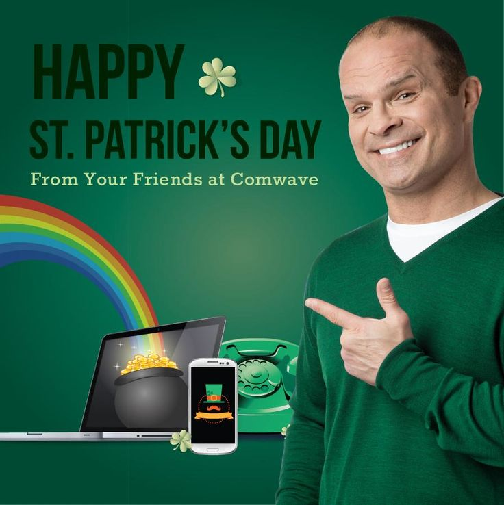 Happy St. Patrick's Day From Comwave