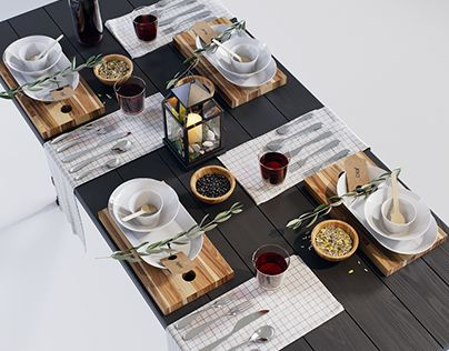 """Check out new work on my @Behance portfolio: """"IKEA dining set 1 3D model"""" http://be.net/gallery/58281877/IKEA-dining-set-1-3D-model"""