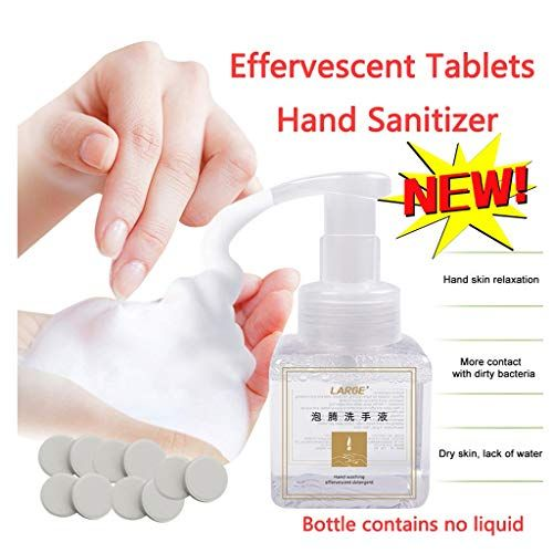 Fine Effervescent Tablets Hand Sanitizer Foam Type Super Clean