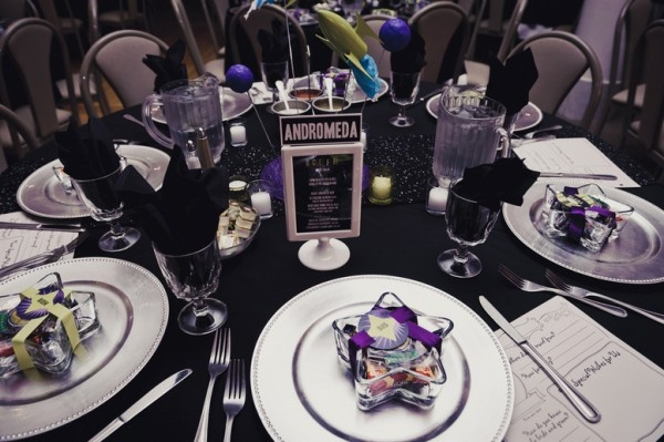 This sci-fi wedding is sending us over the moon | Offbeat Bride