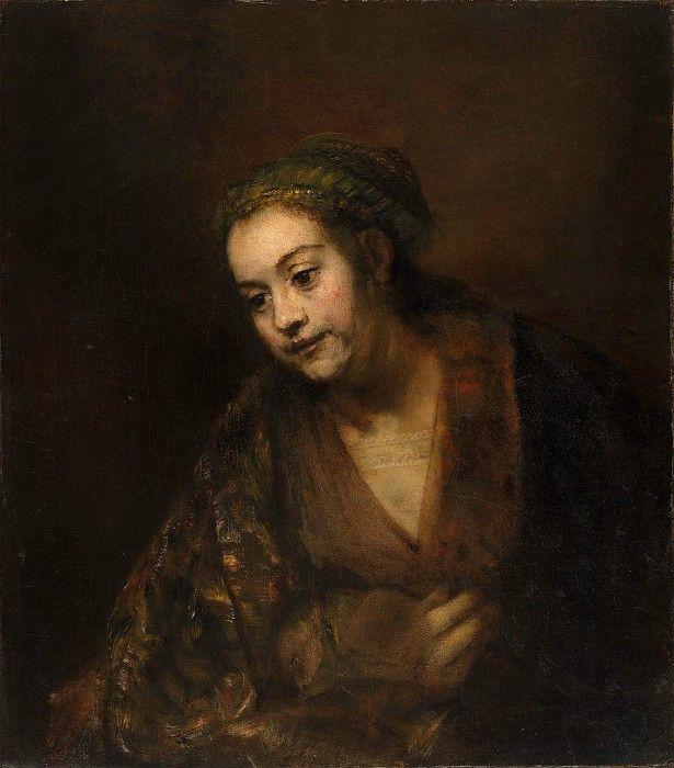 Рембрандт (Голландия, Лейден 1606-1669 Амстердам) - Хендрикье Стоффельс (1626-1663). часть 4 Музей Метрополитен. 1650-е, холст, масло