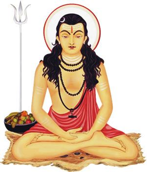 "Gorakhnath - the ""immortal sage"" traditionally associated with Hatha Yoga."