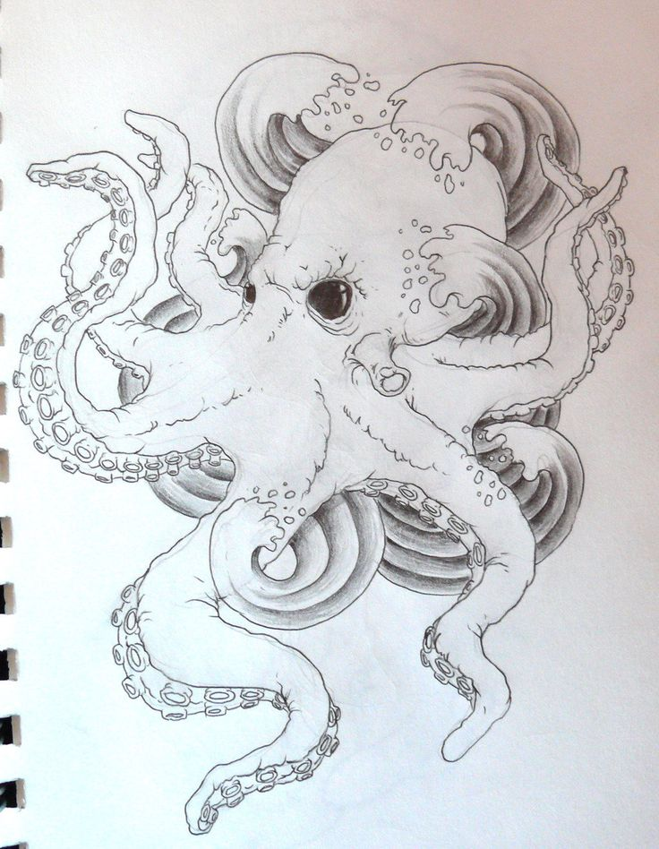 54 best tentacle octopus tattoos images on pinterest octopus tattoos octopus tattoo design. Black Bedroom Furniture Sets. Home Design Ideas