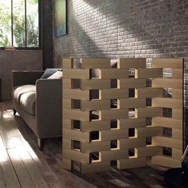 Cloison cr er en empilant les diff rents modules - Claustra interieur castorama ...