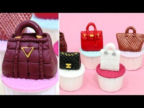 This tutorial is about how to make fashion cupcakes with designer purses using fondant. To stay up to date with my latest videos, make sure to SUBSCRIBE to t...