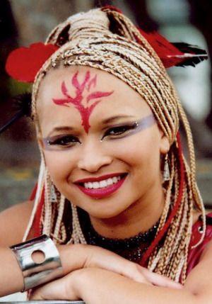 Meryl Cassie as Ebony from 'The Tribe'.