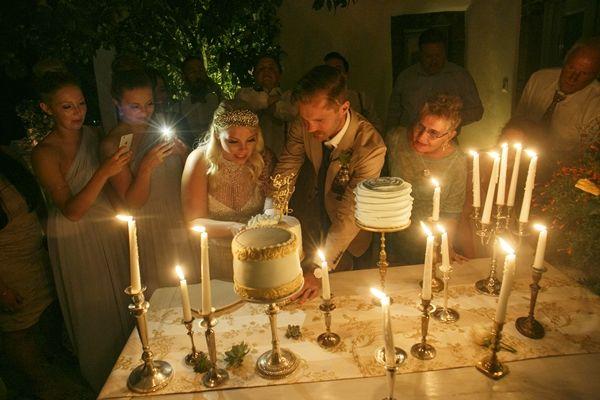 Wedding cake inspirations   Greek Island destination wedding