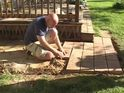 How to lay a small paver stone patio
