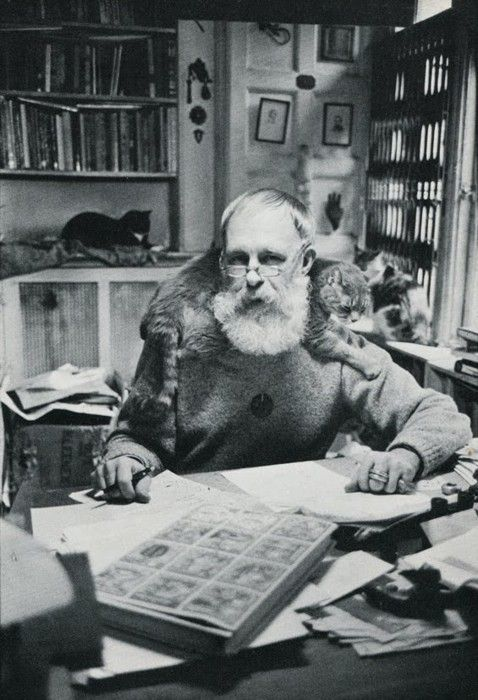"""I am a person before I am anything else. I never say I am a writer. I never say I am an artist...I am a person who does those things.""  ― Edward Gorey"