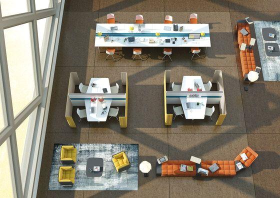 Sistemi tavolo | Postazioni di lavoro | Pod | Martex. Check it out on Architonic