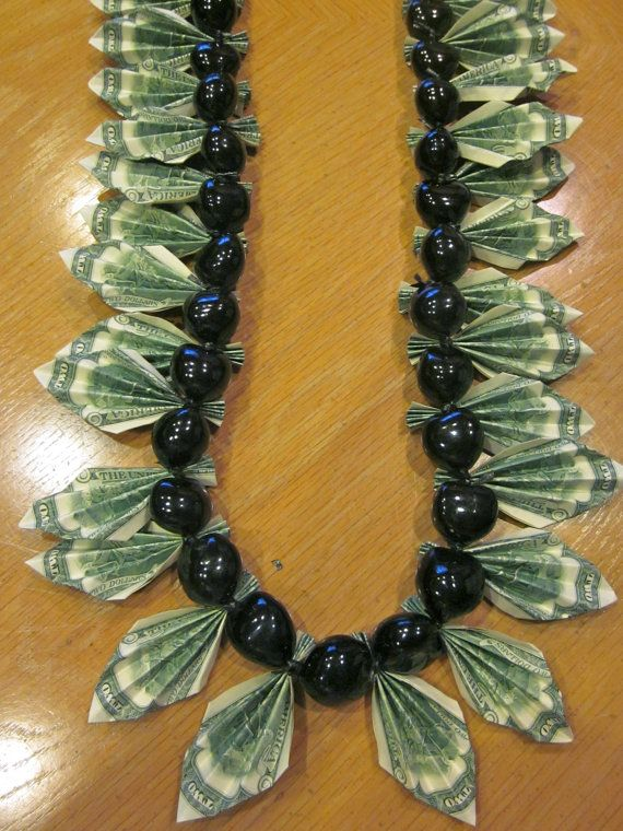 Graduation Money Lei - Reserved for Jeanette B ...
