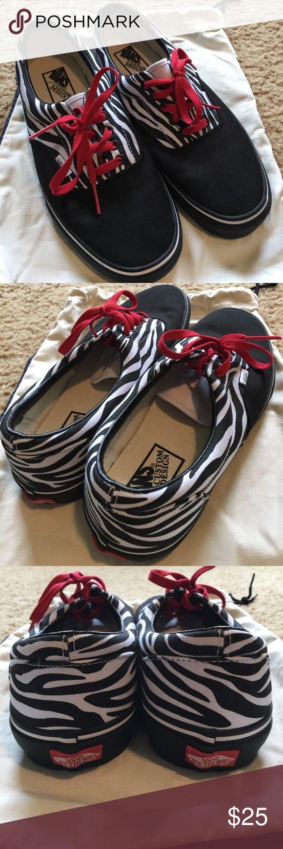 Vans custom tennis shoes - men's size 11.0 Vans custom tennis shoes men's US size 11.0. Never worn. Vans Shoes Sneakers