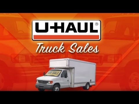 U-Haul Truck Sales®: Used Box Trucks for Sale