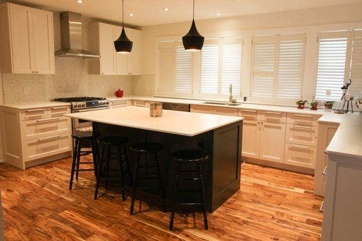 Blue Kitchen Cabinet Refacing Ikea Kitchen Installers Toronto On
