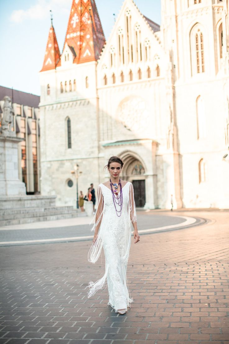 Well Travelled Bride Budapest Wedding Guide - Kelsey Genna - Bridal Dress
