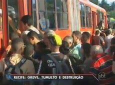 Galdino Saquarema Noticia: Cinco ônibus queimados na greve de rodoviários em Recife