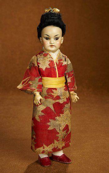 German Bisque Asian Child, Mod... Auctions Online | Proxibid