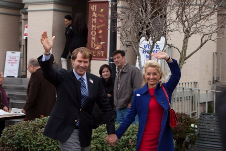 EXCLUSIVE: Katherine LaNasa Talks The Campaign - The actress plays Rose Brady, the wife of Will Ferrell's Cam Brady in this political comedy, arriving in theaters August 10.