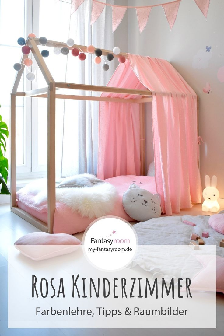 Kinderzimmer in Rosa einrichten & gestalten Για το σπίτι