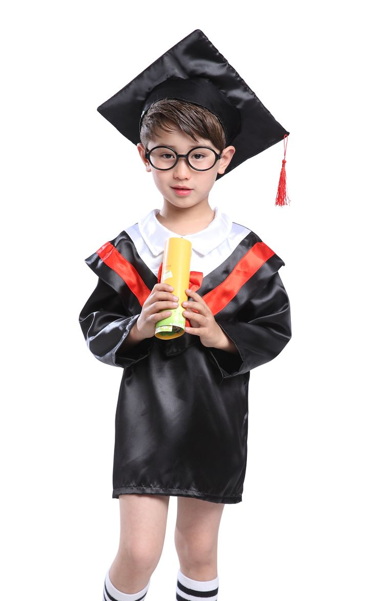 >> Click to Buy << Bachelor's degree, doctor's gown, primary and secondary school student, performance dress, graduation gown, doctor cap, child #Affiliate