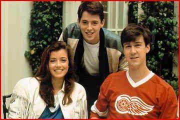 """Bueller! Bueller...?"" O professor fazendo a chamada e Ferris Bueller estava era ""curtindo a vida adoidado"". hahaha"