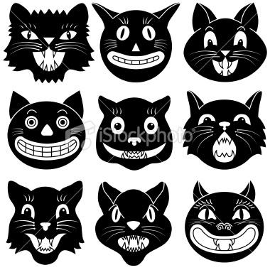 Cheesy Cat Faces