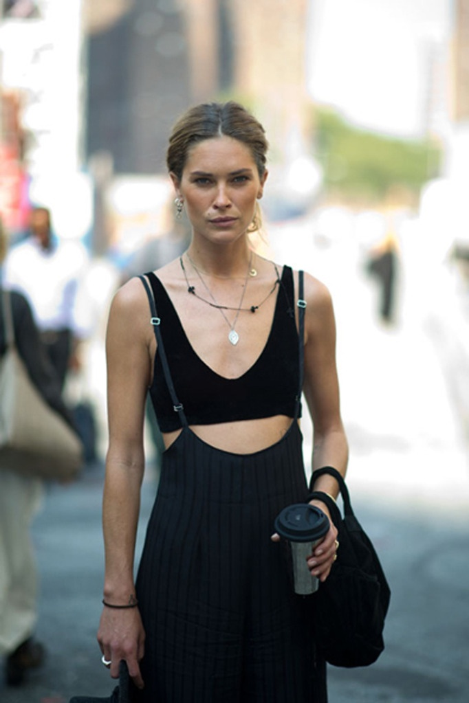 Erin Wasson - modern version of the 1930s beachwear outfit I pinned yesterday!